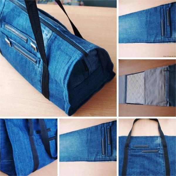 sumka-iz-staryh-dzhinsov-svoimi-rukami-foto-2 Как сшить сумку из старых джинсов своими руками выкройки фото. Как своими руками сшить сумку из старых джинсов по простой выкройке?
