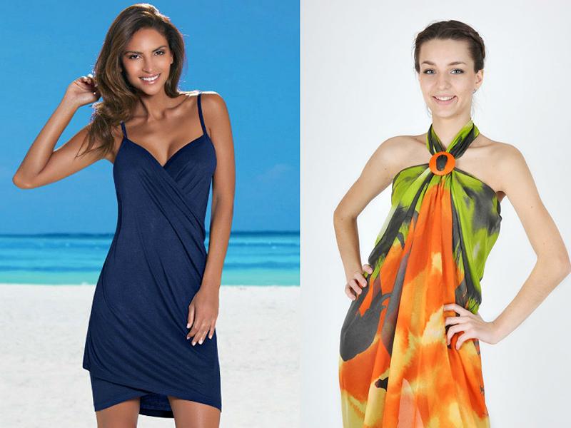 Бесконечное платье – прекрасный выбор для курортного отдыха. В жаркую  погоду достаточно просто завязать шарфы на груди красивым бантом и оставить  концы ... 549953cf402