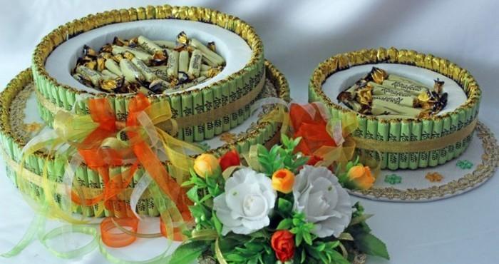 tort-iz-konfet-02 Торты из конфет и чая. Как сделать праздничный торт из конфет