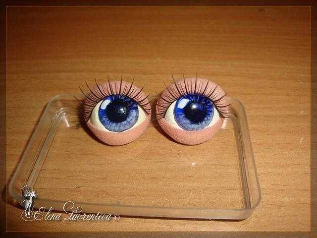 Глаза для куклы своими руками 606