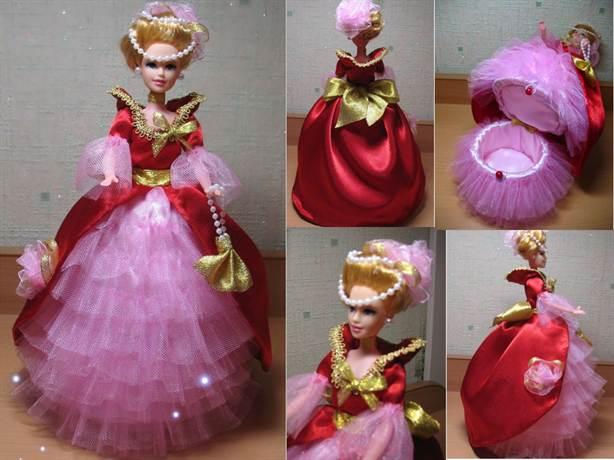 Кукла из атласных лент своими руками фото 438