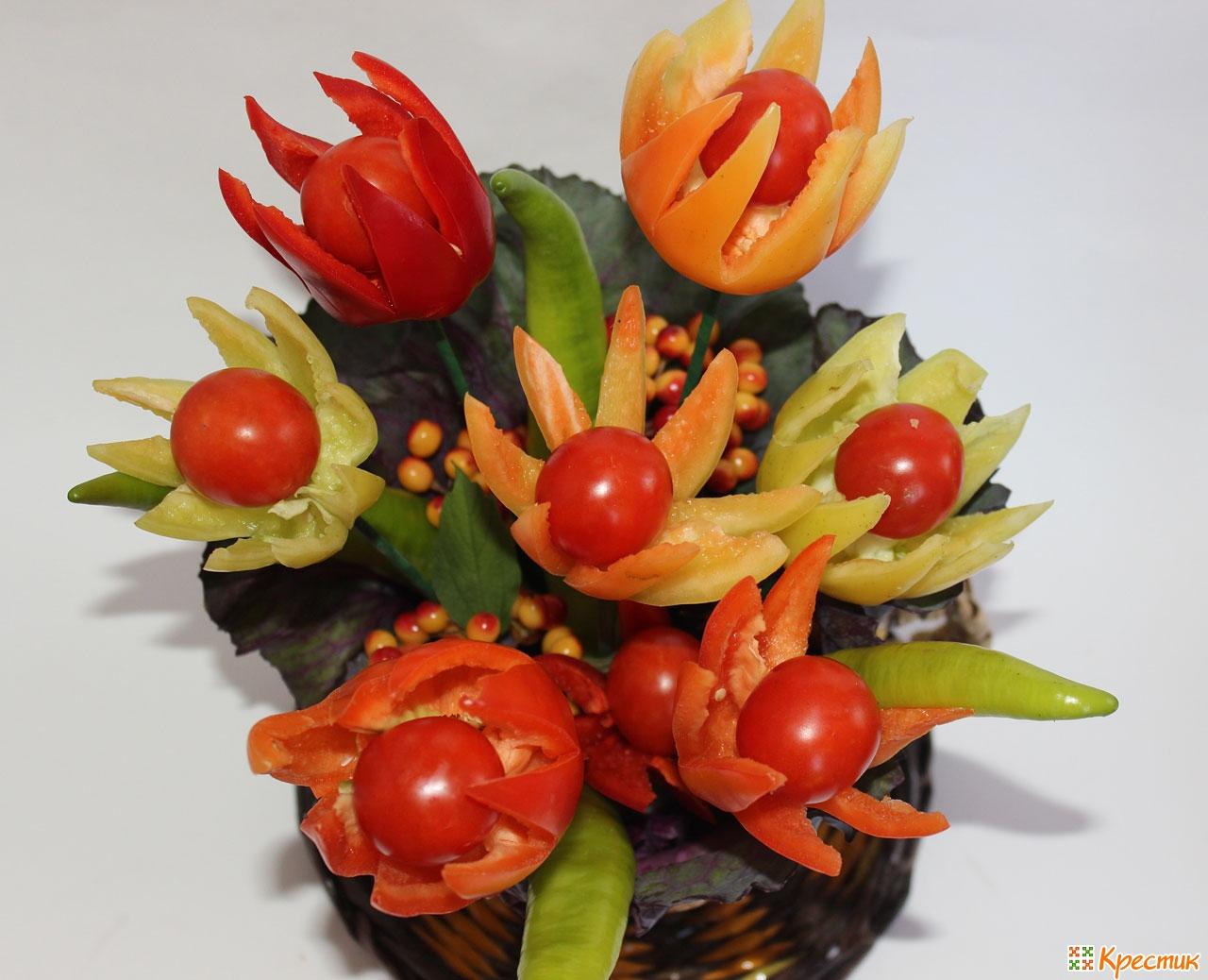Фигурки из овощей сделанные своими руками фото 368