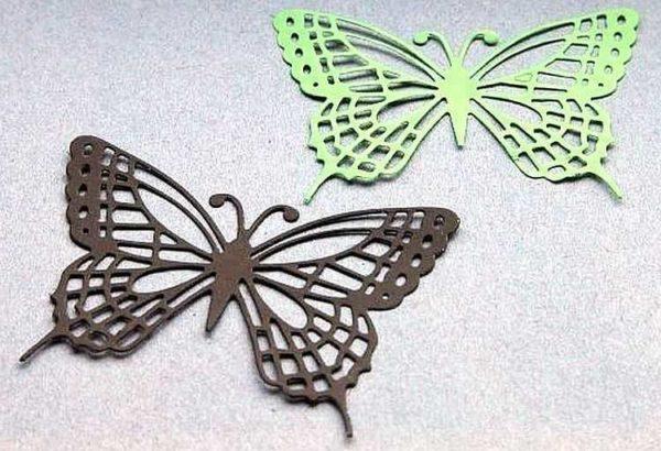 babochki-dla-dekora-13-600x410 Шаблоны цветов для вырезания из бумаги разных размеров. Бабочки из бумаги своими руками и трафареты для вырезания