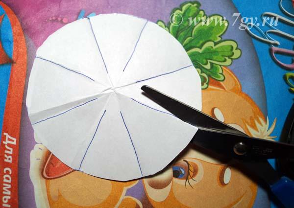 ocv9 Объемная водяная лилия из бумаги для детей и цветы в той же технике своими руками. Как сделать своими руками кувшинки из бумаги