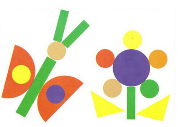 Applikatsiya-iz-geometricheskih-figur-shablony-7 Шаблоны аппликация машинка из цветной бумаги. Аппликация для самых маленьких из цветной бумаги: шаблоны