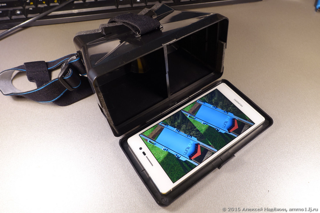 Очки виртуальной реальности для смартфона своими руками фото 816