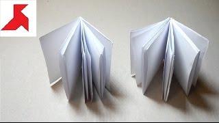 Как сделать быстро БЛОКНОТ из бумаги А4 своими руками?