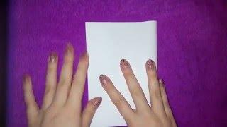 DIY || Как сделать блокнот из одного листа бумаги своими руками | Back to school|