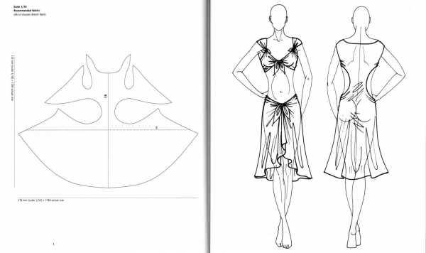 kak-sshit-halat-plyazhnyj-iz-shifona_4 Как сшить халат пляжный из шифона. Как выбрать пляжное платье для отдыха и свадьбы на побережье. Халат пляжный из шифона выкройка