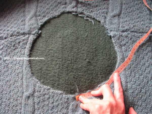 prishit-gorlovinu-k-vyazanomu-izdeliyu_1 Пришить горловину к вязаному изделию. Как красиво выполнять отделку, вязать и обвязывать горловину спицами