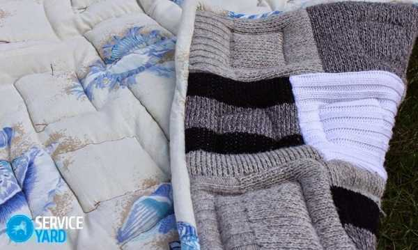 sshit-pled-iz-staryh-sviterov_0 Сшить плед из старых свитеров. Одеяло в технике вязаный пэчворк или вторая жизнь старых свитеров