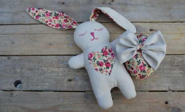 Сшить игрушку зайца своими руками фото 541